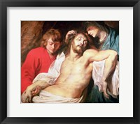 Framed Lament of Christ by the Virgin and St. John