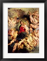 Framed Virgin and Child surrounded by the Holy Innocents