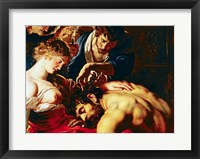 Framed Samson and Delilah