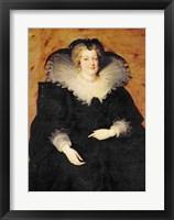 Framed Marie de Medici, 1622