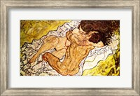 Framed Embrace, 1917