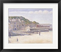 Framed Harbour and the Quays at Port-en-Bessin, 1888