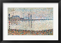 Framed Study for 'The Channel at Gravelines, Evening', 1890