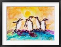 Framed Penguins Under the Sun