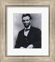 Framed Abraham Lincoln Portrait 1865
