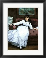 Framed Rest, portrait of Berthe Morisot