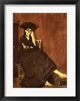 Framed Berthe Morisot