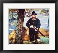 Framed Pertuiset, Lion Hunter, 1881