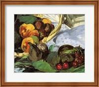 Framed Dejeuner sur l'Herbe, 1863 (fruit detail)