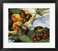 Framed Dejeuner sur l'Herbe, 1863 (fruit detail)