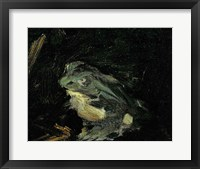 Framed Dejeuner sur l'Herbe, 1863 (frog detail)