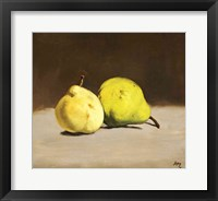 Framed Two Pears, 1864