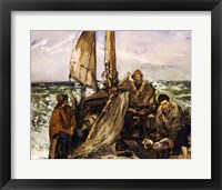 Framed Workers of the Sea, 1873