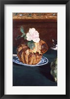 Framed Still Life with Brioche, c.1880