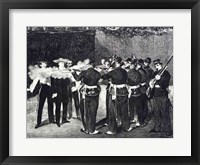 Framed Execution of Maximilian, 1868