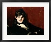 Framed Berthe Morisot - profile
