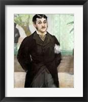 Framed Portrait of M. Gauthier-Lathuille