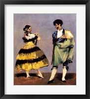Framed Spanish Dancers, 1879