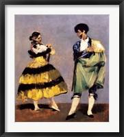Framed Spanish Dancers, 1879
