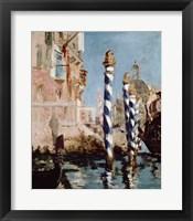 Framed Grand Canal, Venice, 1875