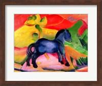Framed Little Blue Horse, 1912