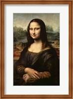 Framed Mona Lisa, c.1503-6