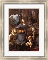 Framed Virgin of the Rocks