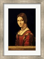 Framed Portrait of a Lady from the Court of Milan