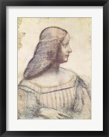 Framed Portrait of Isabella d'Este