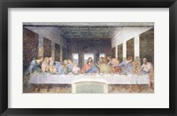 Framed Last Supper, 1495-97 (post restoration)