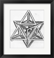Stella octangula Framed Print