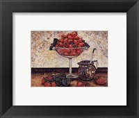 Framed Strawberries and Cream