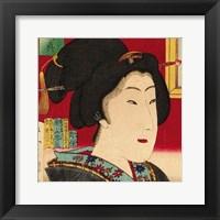 Framed Geisha (detail)