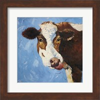 Framed Cow #303