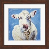 Framed Cow #300
