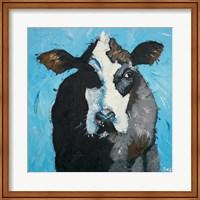 Framed Cow #302