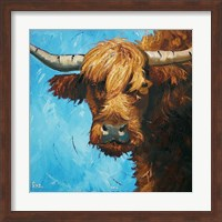 Framed Cow #301