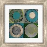 Framed Aquamarine