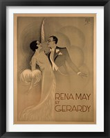 Framed Rena May Et Gerardy