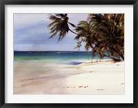 Framed Caribbean Sea