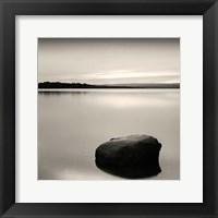 Framed Solo Floating on Ottawa River, Study #2 (detail)