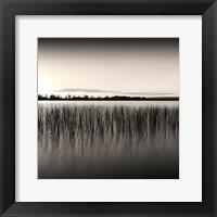 Framed Sunset on Ottawa River, Study #2