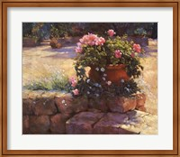 Framed Majorcan Patio Pot