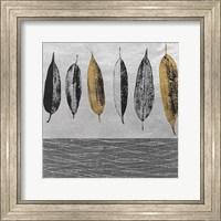 Framed Row of Leaves