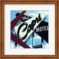 Framed Capri Motel