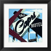 Framed Capri Motel