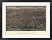 Framed Chicago 1916
