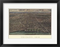 Framed Chicago 1916