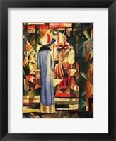 Framed Large Bright Showcase