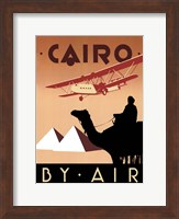 Framed Cairo by Air